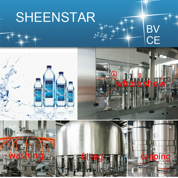 world wide pure water filling machine production line for exporing