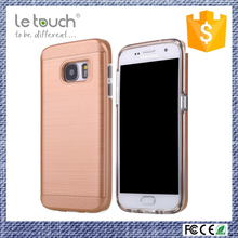 2016 new arrival New design anti-stretch TPU frame phone case for samsung s7 case