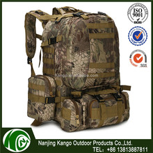 K-ANGO Large Factory Scale Multi-Utility Military Molle Backpack Tactical Outdoor Hunting Camping Black