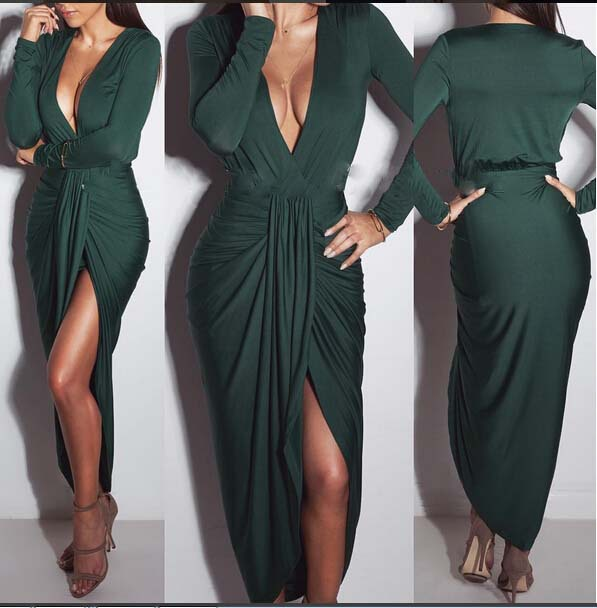 Hot women open bust green nightwear sexy night dresses,sexy evening dress,sexy party cure color dresses