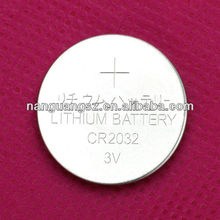 3V lithium battery CR2032