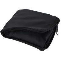 Wholesale Eco 210D Folding Tote Bags Small Nylon Zipper Pouch
