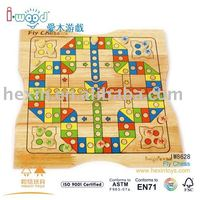 Wooden Chess game set display box Producer baby toy