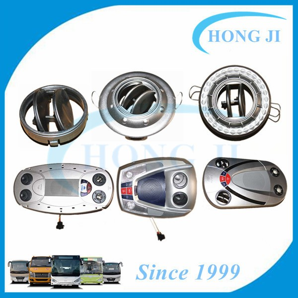 Guangzhou bus parts supplier vehicle air vent Yutong bus air outlet