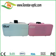 Factory price with high quality dual play glasses 3d new design flat lens glasses cinema 3d glasses on computer