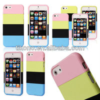 Multi-function pc hard plastic back cover case for iphone 5
