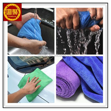 Microfiber car cleaning cloth hot sale 300gsm suede sanding microfiber towel
