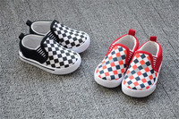 wholesale new fashion designer casual baby canvas soft soled kids shoes