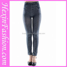 Wholesale Hexin Pictures Sexy Jeans Women Jeans Leggings Tights