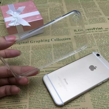 high grade transparent soft phone case for iPhone 7