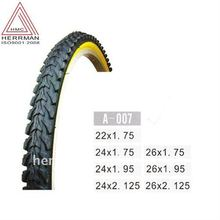 coloured bicycle tyre