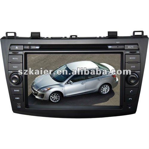 KR-8018 8 inch autoradios/dvd automotile/car multimedia/in car entertainment for Mazda 3
