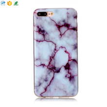 broken marble dark color cell phone case for iphone 8 7 plus