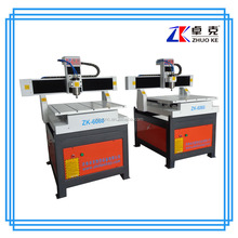 Working table moving top sale Jinan Zhuoke PCB Engraver cutter machine ZK-6060 600*600mm