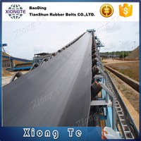 quality product ep200 conveyor belt for 20ft & 40ft containers
