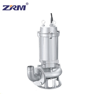 WQ Submersible Centrifugal Sewage Water Pump portable Mud Pump