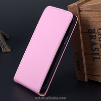 Hot Flip Cover Smartphone Case For Samsung Galaxy S 2 II i9100 Genuine Leather Open Up And Down RCD03007
