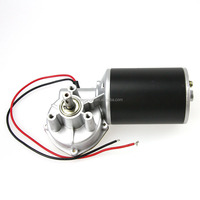 24v wire feeding machine small dc motor with gearbox for carbon dioxide welding machine