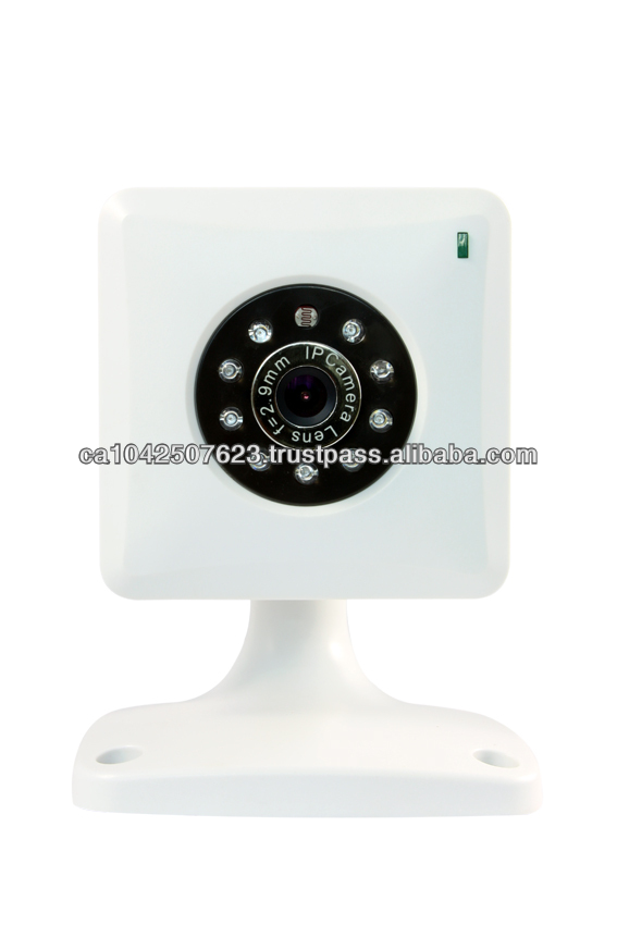 AB-IP612W p2p 300K pixels CMOS 3.6mm lens, built in MIC Built inaudio out socket wifi wireless ip camera