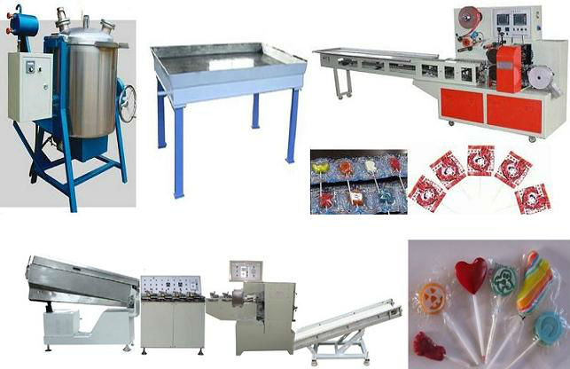 Special Lollipop Production Line|Special Lollipop Making Machine