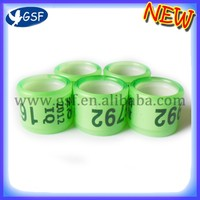 Hot selling plastic graduation pigeon rings pigeon tag coil with low price