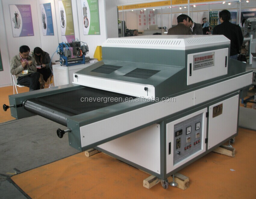 800MM size teflon UV Dryer, UV drying machine for screen printer, UV Curing machine
