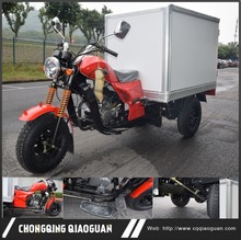 TENTIAN Export lifan Zongshen 150 cc engine small cargo van tricycle with enclosed Waterproof container