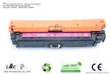 compatible color laserjet toner cartridge ce740 ce741 ce742 ce743 for hp