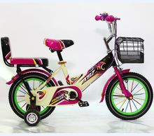 Xingtai bicicleta two seat kids bike/OEM CE kids bicycle for 5 year old girl/factory supply children bicycle with training wheel