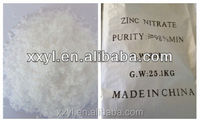 98% High Purity Zinc Nitrate Hexahydrate Zn(NO3)2.6H2O