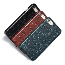 Gliiters genuine leather case for iPhone 7 case back cover housing custom