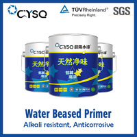 water based metallized coating primer