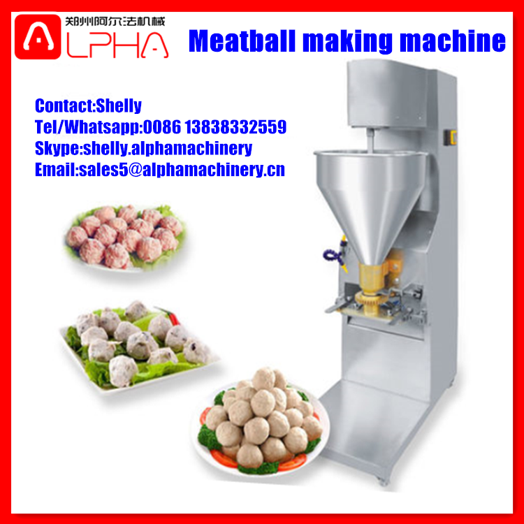 Stainless steel stuffed meatball making machine fishball maker meatball forming line