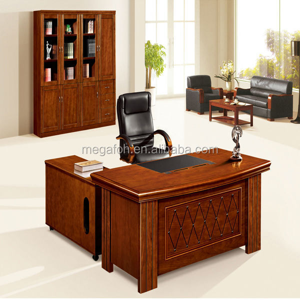 China factory top quality modern office furniture wooden executive office desk price(FOH-HS-A1876)