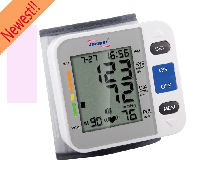 how to use a finger blood pressure monitor