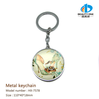 HX-7578 Custom Key Shaped Unusual Keyring