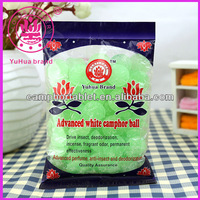 High Quality 99% Pure Anti -insect and Deodorization Green Crystal Camphor Balls