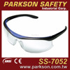PARKSON SAFETY Taiwan One Piece Dual Material PC&TPR Frame Extremely Comfortable Safety Eyewear CE EN166 ANSI Z87.1 SS-7052