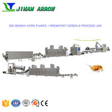Automatic 200-300kg/h Corn Flakes/Breakfast Cereal Making Machine