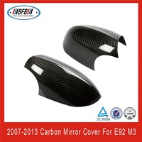 Carbon Fiber Side Mirror Covers for 2006-2009 BMW E92 M3