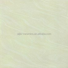 Trade Assurance Guangzhou Canton Fair line high gloss white polished 60 60 porcelain floor tiles