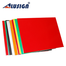 Alusign fire rated plywood aluminum composite wall cladding material