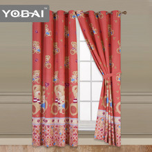 Bedroom Customized Latest Designs Printed Curtains