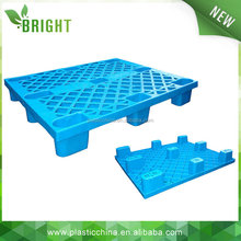cheapest price in china 9 Leg 4 way single faced plastic pallet