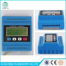 Cheap portable ultrasonic flowmeter/clamp on ultrasonic transducer flow meter