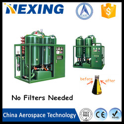 China Aerospace Tech Waste Black Car Engine Oil or Used Ship Oil Recycling Oil Refinery Plant