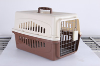 Airline Approved Plastic Dog / Cat Pet Kennel Carrier or Air Travel Foldable Dog crate