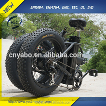 Factory price fat tire ebike folding electric bike for sale