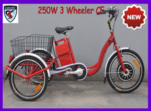 lohas lead-acid battery operated electric tricycle