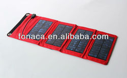 Foldable solar mobile charger bag, Foldable Solar panel charger, Foldable solar battery charger